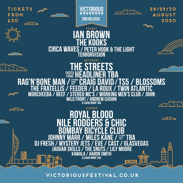 Victorious Festival line up poster