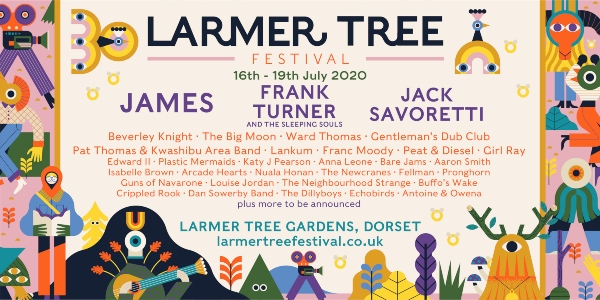 Larmer Tree Festival 2020 line up poster