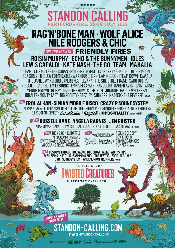 Standon Calling Kine Up