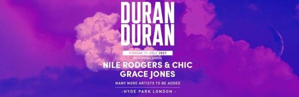 British Summer Time 2021 Line Up - Duran Duran