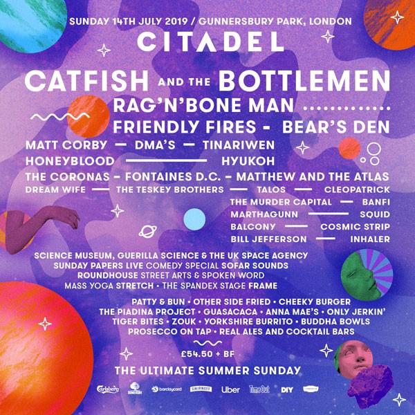Citadel 2019 Line Up