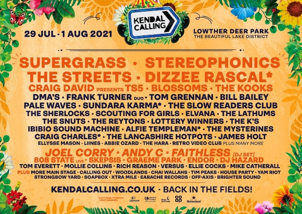 Kendal Calling line up poster