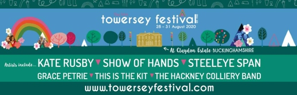 Towersey Festival 2020 Line Up Poster