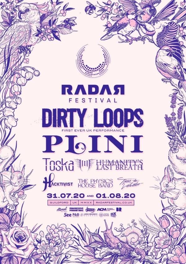 Radar Festival 2020 Line Up Poster