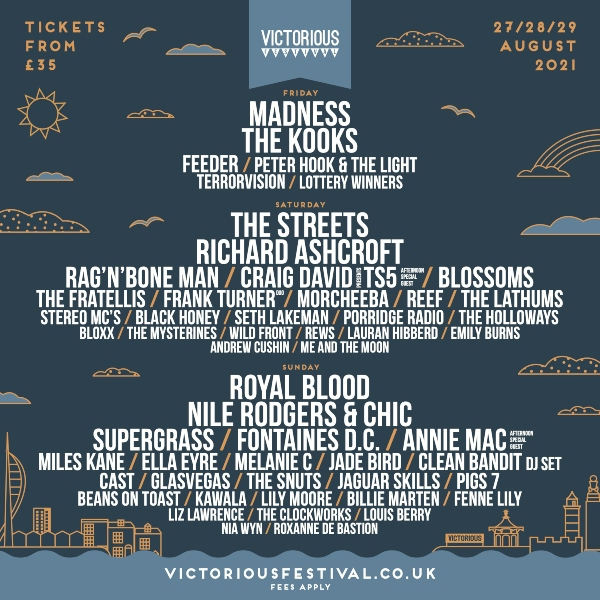 Victorious Festival Line Up Poster 2