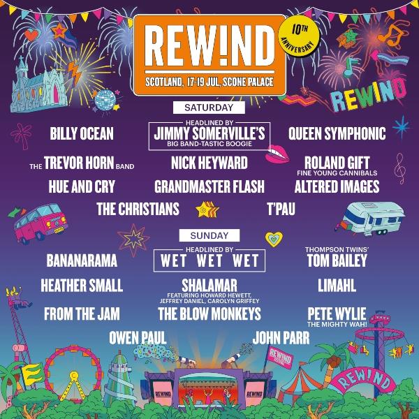 Rewind Festival Scotland 2020