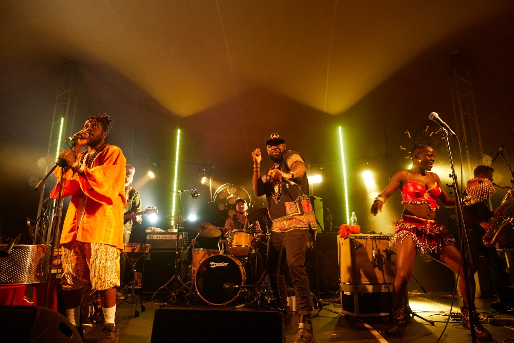 K.O.G and the Zongo Brigade at Deer Shed Festival 2019