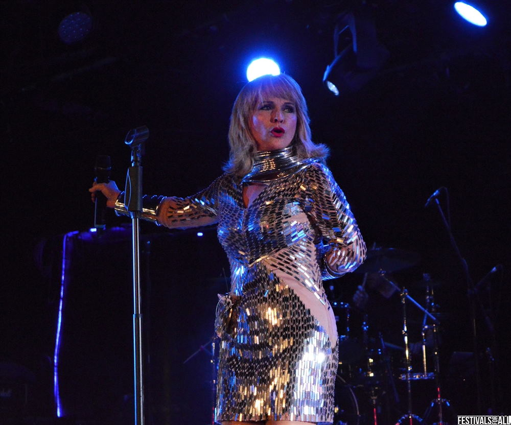 Toyah Wilcox at The Great British Alternative Music Festival Minehead 2019