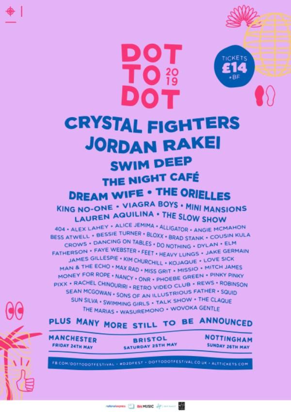 Dot to Dot Festival Manchester 2019 line up