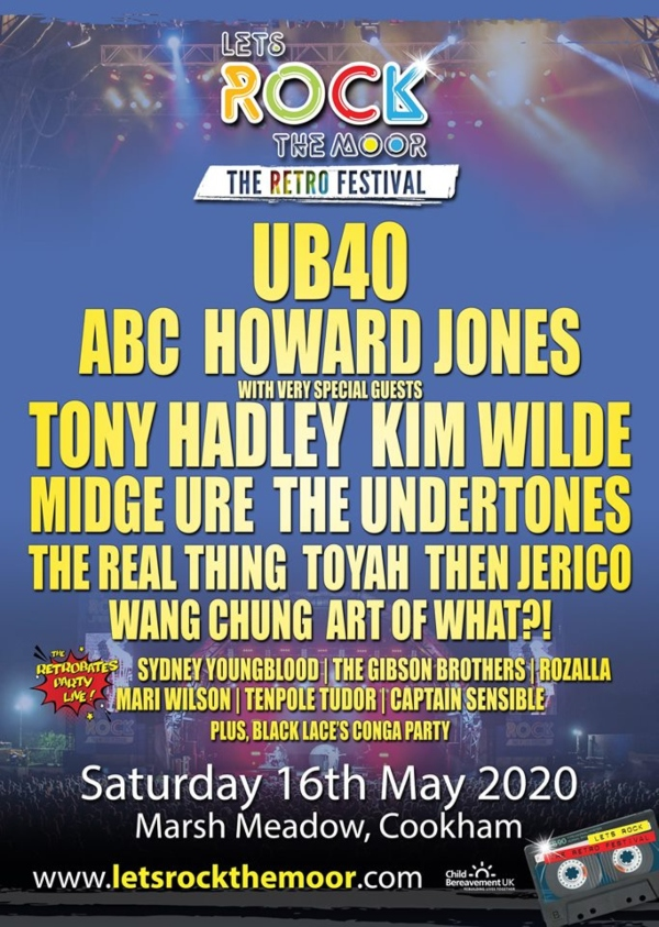 Let's Rock The Moor 2020 Line Up Poster