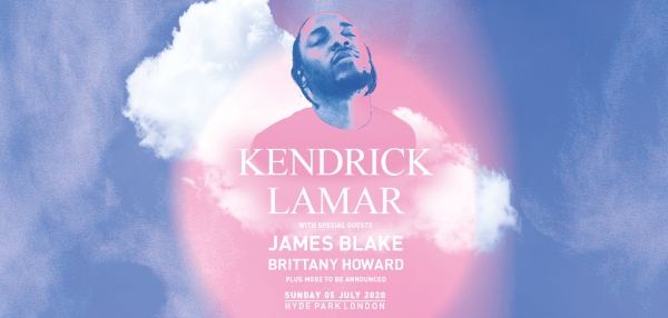 Kendrick Lamar at British Summer Time Poster
