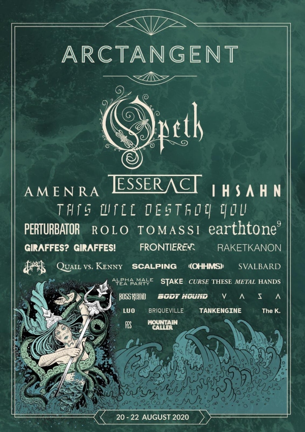 ArcTanGent Festival 2020 line up poster