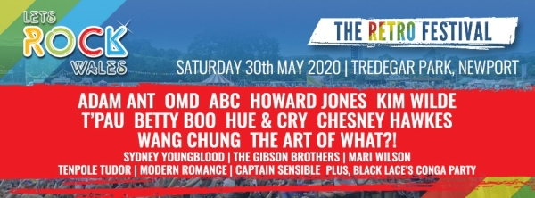 Let's Rock Wales 2020 line up poster