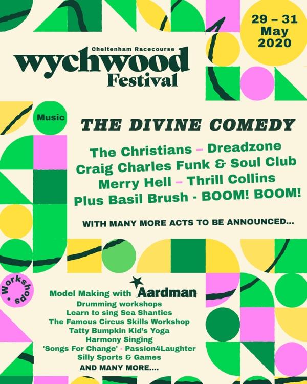 Wychwood Festival line up poster