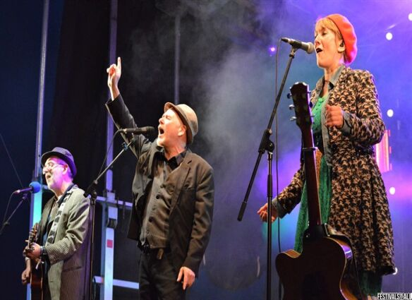 Beardy Folk Festival 2021 Review  '...The crowd just felt privileged to be, well, a crowd again' at wonderful Beardy