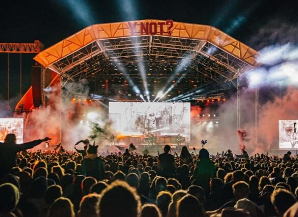 1st wave of acts for Y Not 2022 including headliners Courteeners and Blossoms