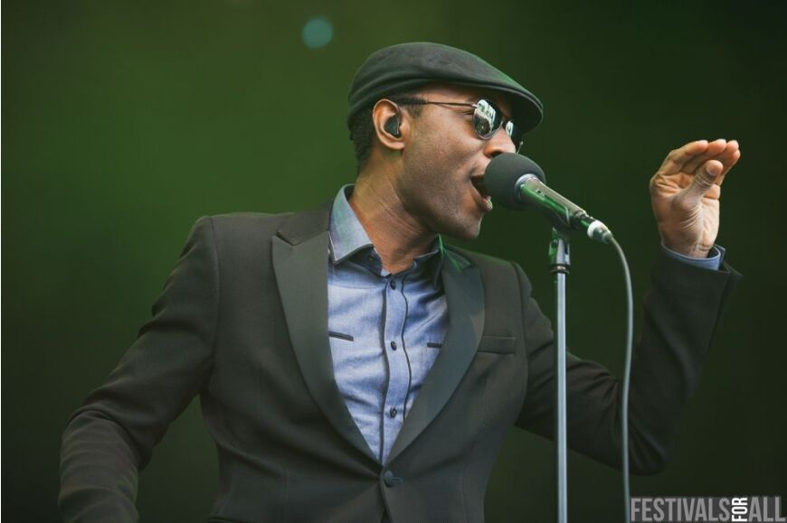 Aloe Blacc at Cornbury 2012