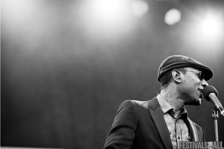 Aloe Blacc at Cornbury 2012