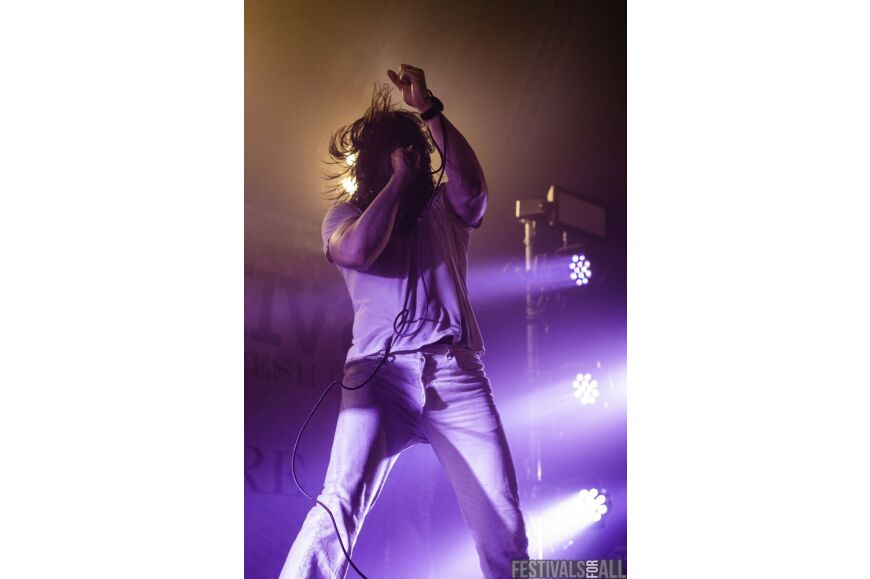 Andrew WK Y Not Festival 2015