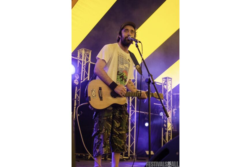 Beans on Toast @  Y Not Festival 2015