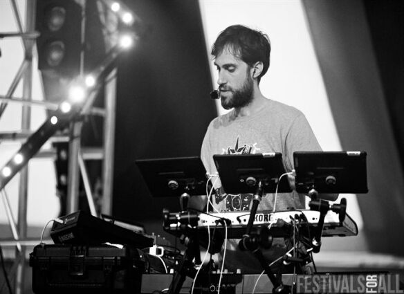 Beardyman at Brownstock 2013