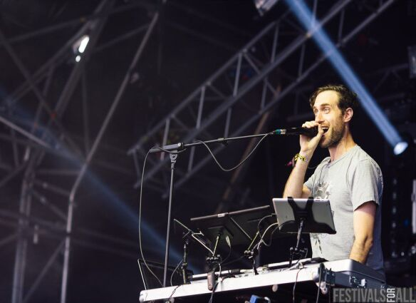 Beardyman at Brownstock festival 2015