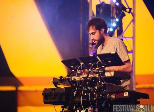 Beardyman @ Brownstock Festival
