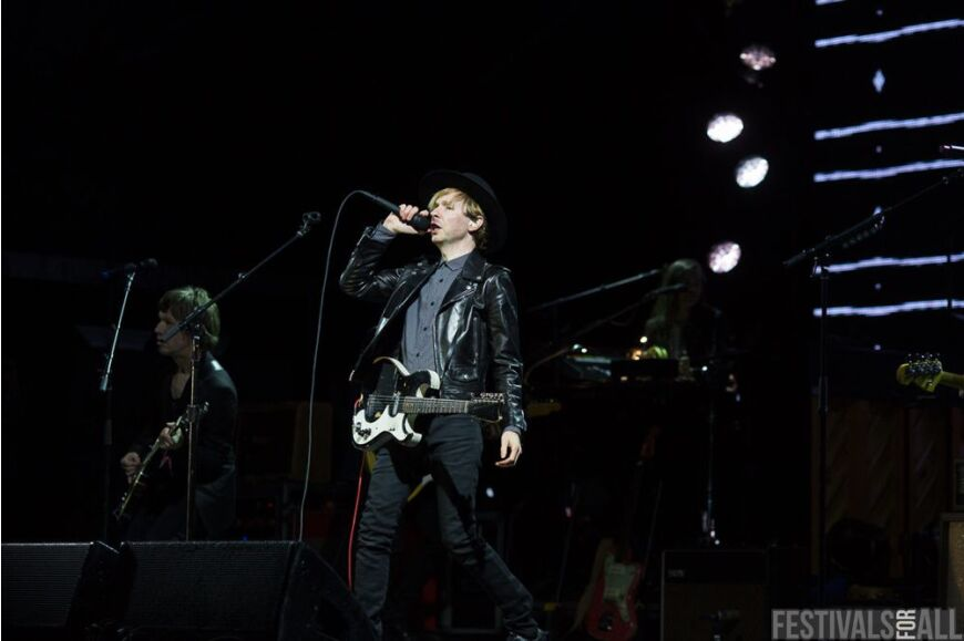 Beck at Festival No 6 2014