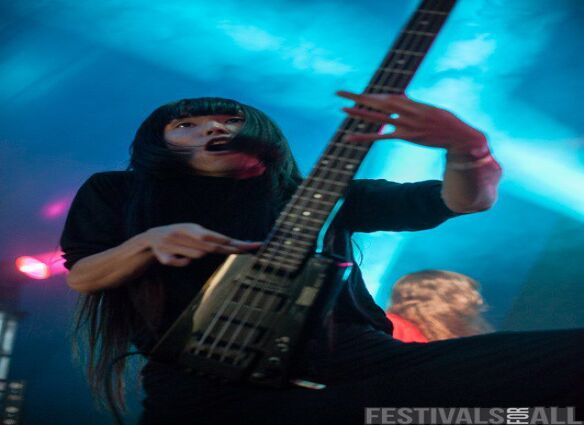 Bo Ningen at Y Not Festival 2015