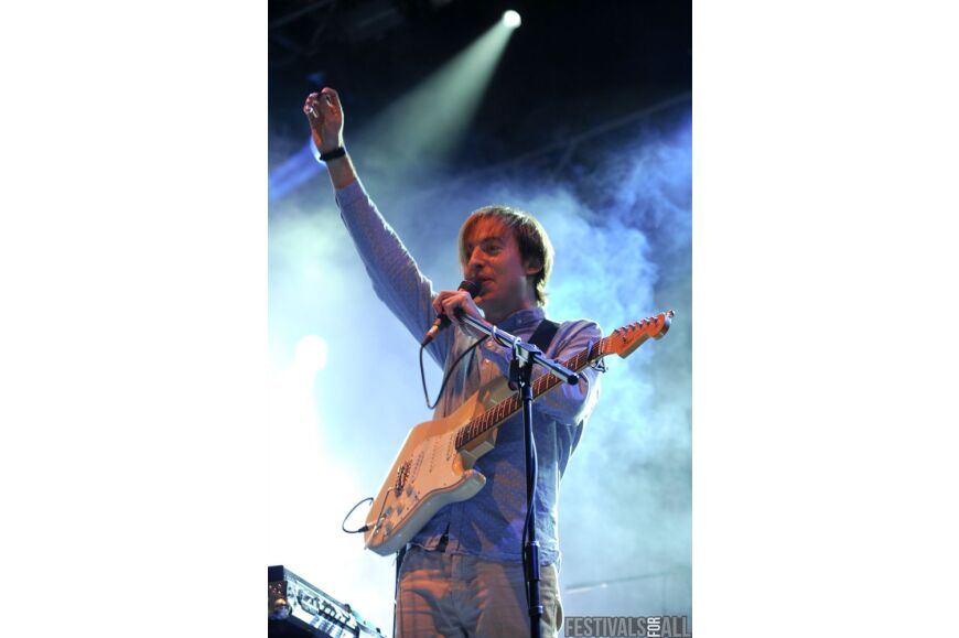 Bombay Bicycle Clb at Leeds Festival