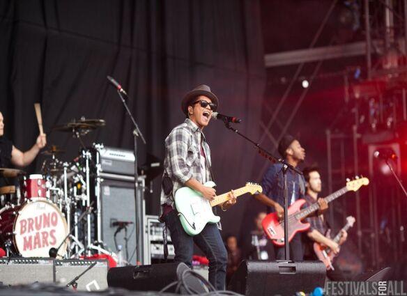 Bruno Mars at V Festival (Chelmsford) 2011