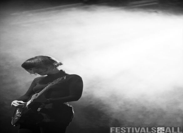 Cate Le Bon at Festival No 6 2013