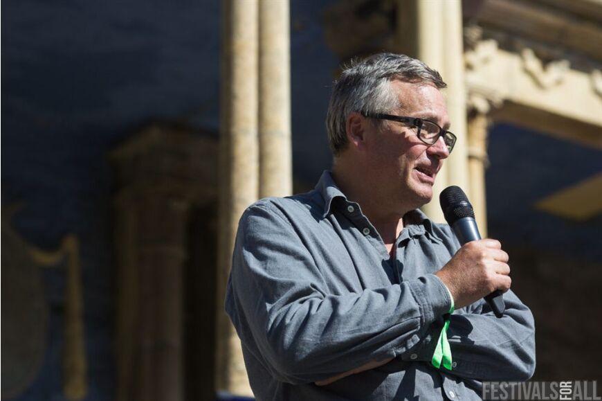 Charlie Higson at Festival No 6 2014