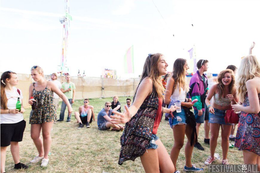 Crowd shots from Brownstock 2015