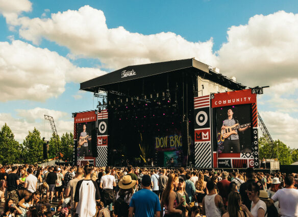 Don Broco at Community Festival 2019