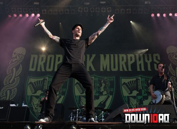 Dropkick Murphys at Download Festival 2012