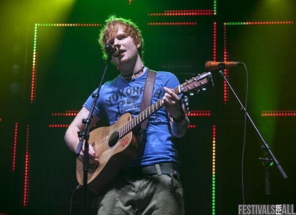 Ed Sheeran at Rockness 2012