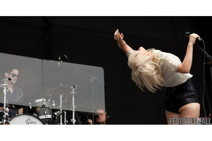 Ellie Goulding at V Festival