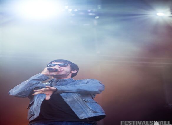 Example at V Festival (Chelmsford) 2011