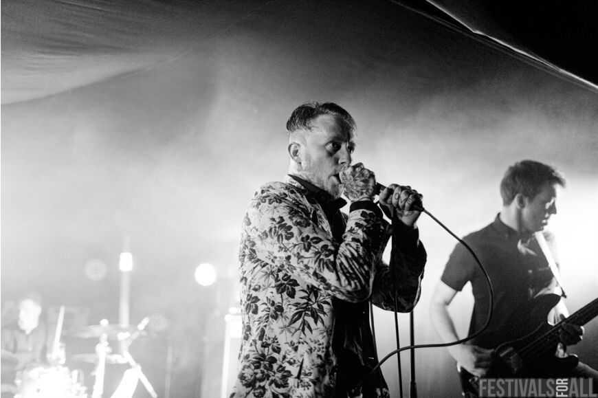 Frank Carter at LeeFest