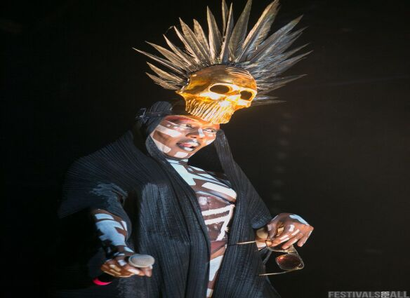 Grace Jones at Festival No:6 2015