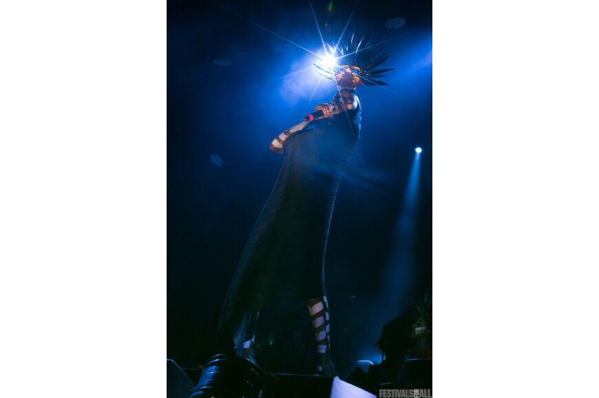 Grace Jones at Festival No 6