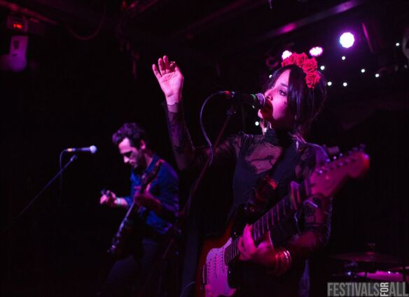 Howling Bells at Nightmare Festival 2014