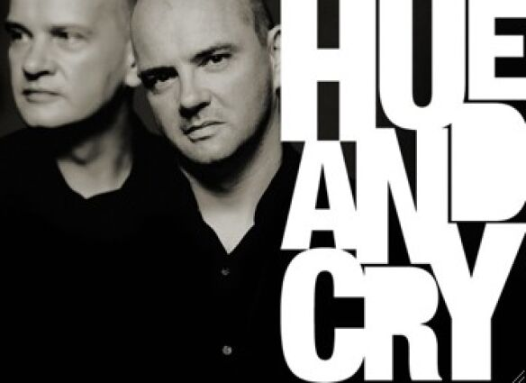 hue and cry pict:logo