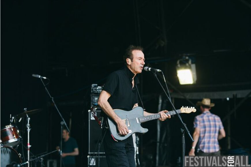 Hugh Cornwell at Cornbury 2013