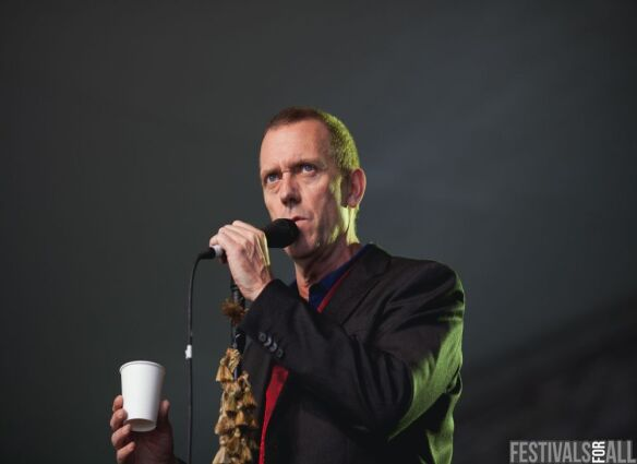 Hugh Lawrie at Cornbury 2012