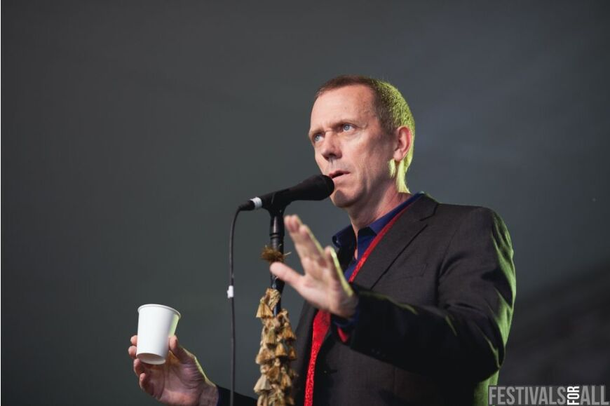 Hugh Laurie at Cornbury 2012