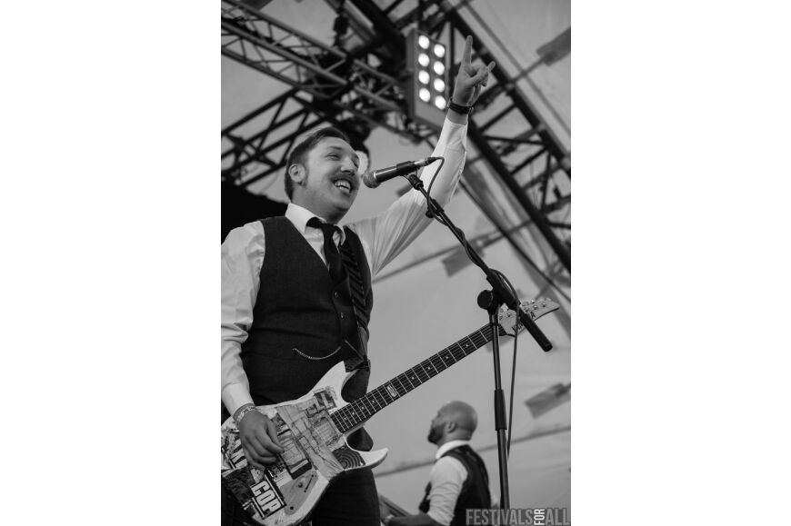 Jamie Lenman at ArcTanGent Festival 2014