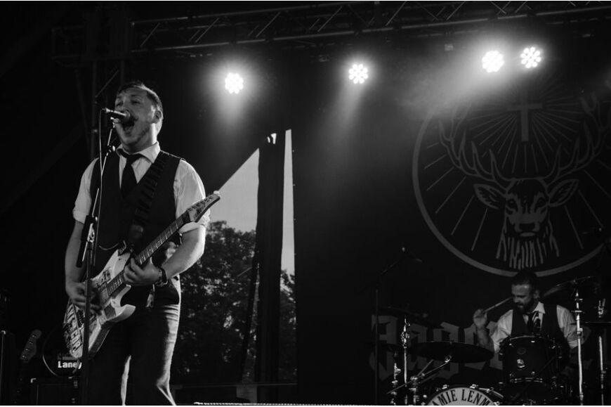 Jamie Lenman at Download 2014
