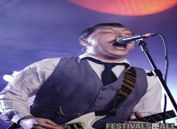 Jamie Lenman at Takedown Festival 2014